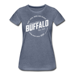 Women's Stamp Premium T-Shirt - heather blue
