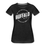 Women's Stamp Premium T-Shirt - charcoal gray