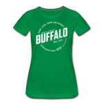 Women's Stamp Premium T-Shirt - kelly green