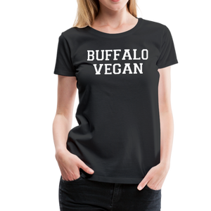 Women's Vegan Premium T-Shirt - black