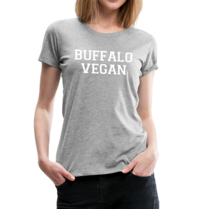 Women's Vegan Premium T-Shirt - heather gray