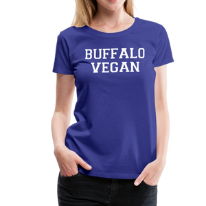 Women's Vegan Premium T-Shirt - royal blue