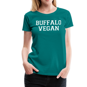 Women's Vegan Premium T-Shirt - teal