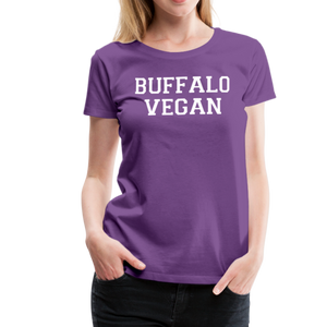 Women's Vegan Premium T-Shirt - purple