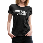 Women's Vegan Premium T-Shirt - charcoal gray