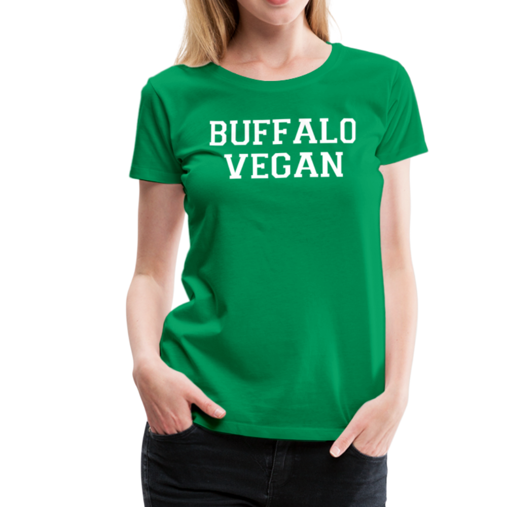 Women's Vegan Premium T-Shirt - kelly green
