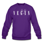 Crewneck Vegan Vogue Sweatshirt - purple