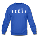 Crewneck Vegan Vogue Sweatshirt - royal blue
