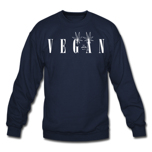 Crewneck Vegan Vogue Sweatshirt - navy