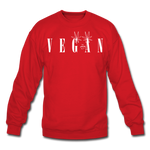 Crewneck Vegan Vogue Sweatshirt - red