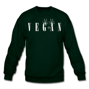 Crewneck Vegan Vogue Sweatshirt - forest green