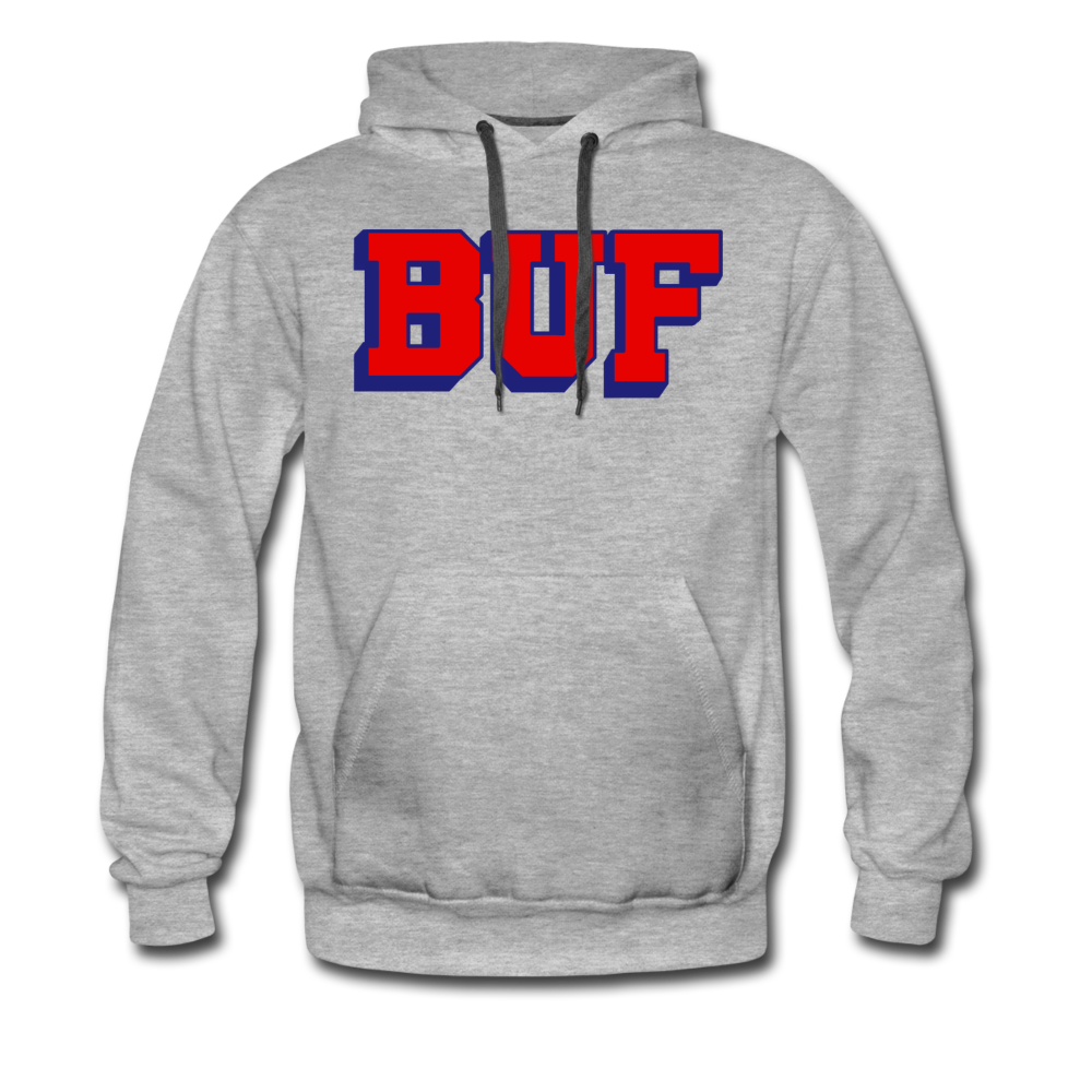 Men's BUF Premium Hoodie - heather gray