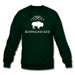 Unisex B&R Crewneck Sweatshirt - forest green