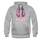 Men's Buffalonian Premium Hoodie - heather gray