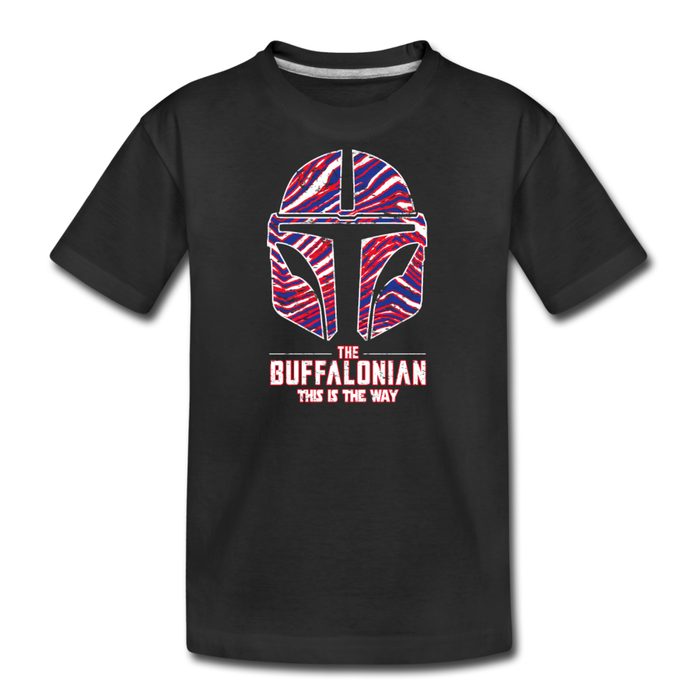 Kids' Buffalonian Premium T-Shirt - black