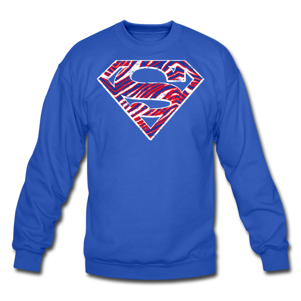 Unisex Superman Crewneck Sweatshirt - royal blue