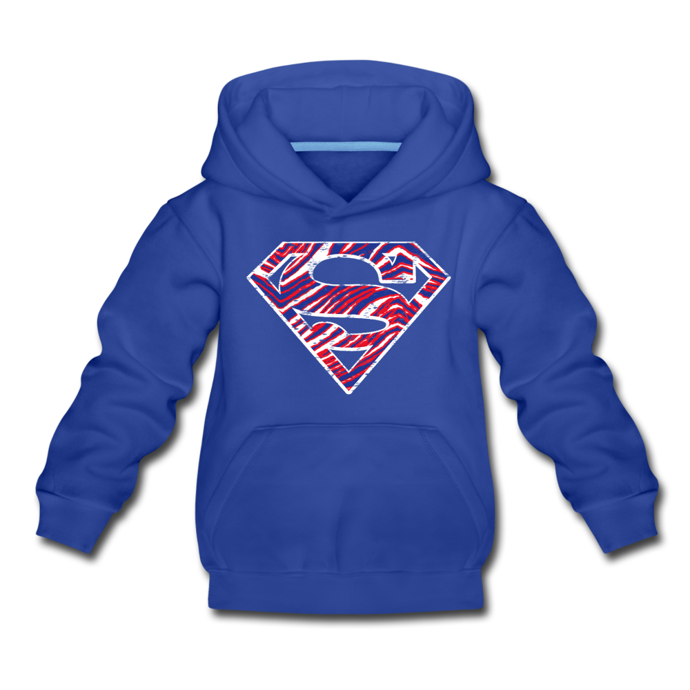 Kids' Superman Premium Hoodie - royal blue