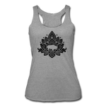 Women's Buffalotus Tri-Blend Racerback Tank - heather gray