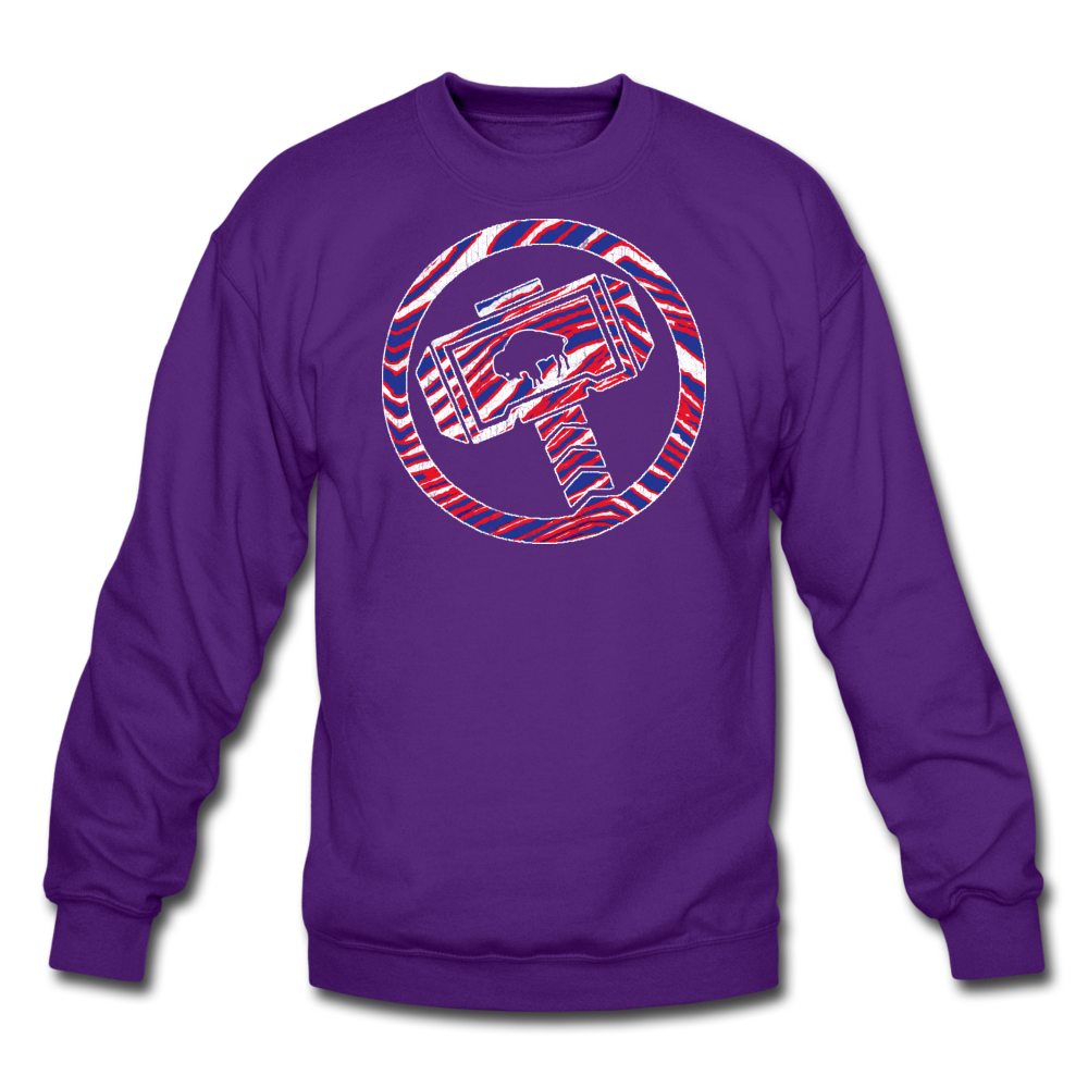 Unisex Thor Buffalo Crewneck Sweatshirt - purple