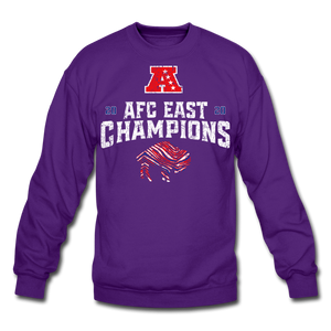 Unisex AFC Crewneck Sweatshirt - purple