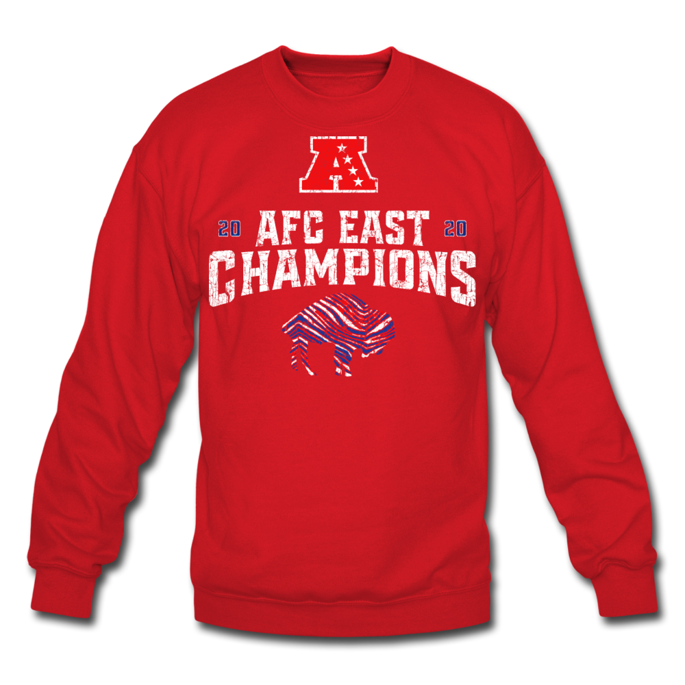 Unisex AFC Crewneck Sweatshirt - red