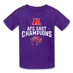 AFC Ultra Cotton Youth T-Shirt - purple