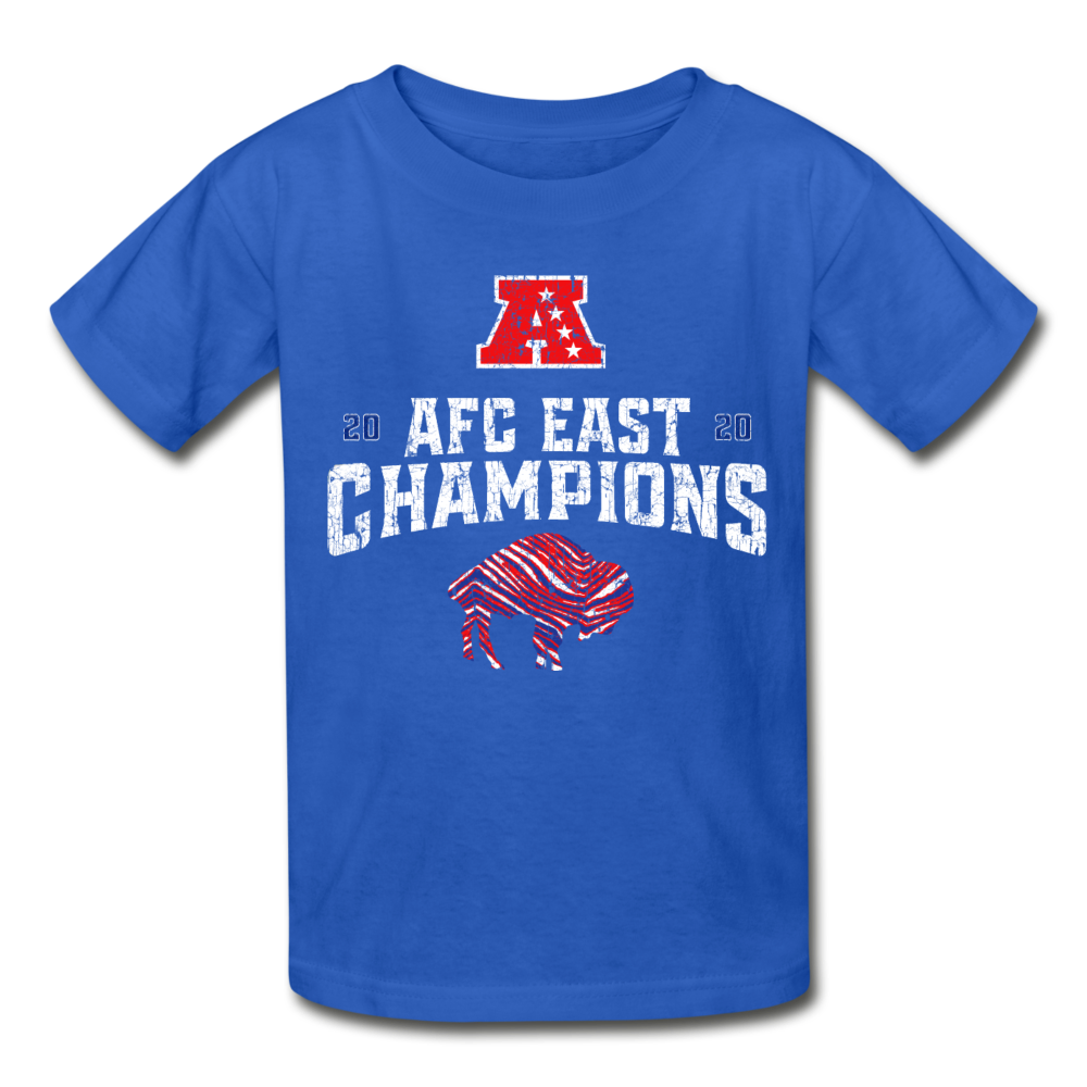 AFC Ultra Cotton Youth T-Shirt - royal blue