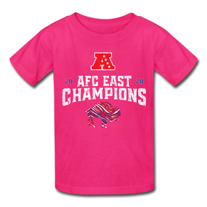 AFC Ultra Cotton Youth T-Shirt - fuchsia