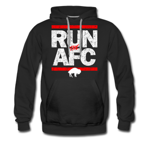 Men's Run The AFC Premium Hoodie - black