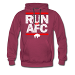Men's Run The AFC Premium Hoodie - burgundy
