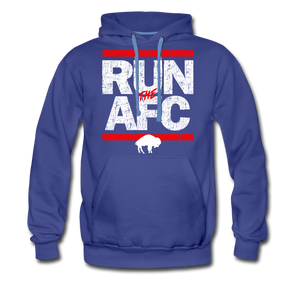 Men's Run The AFC Premium Hoodie - royalblue