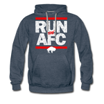 Men's Run The AFC Premium Hoodie - heather denim