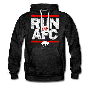 Men's Run The AFC Premium Hoodie - charcoal gray
