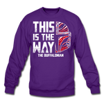 Unisex Buffalonian Crewneck Sweatshirt - purple