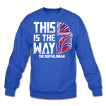 Unisex Buffalonian Crewneck Sweatshirt - royal blue