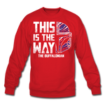 Unisex Buffalonian Crewneck Sweatshirt - red