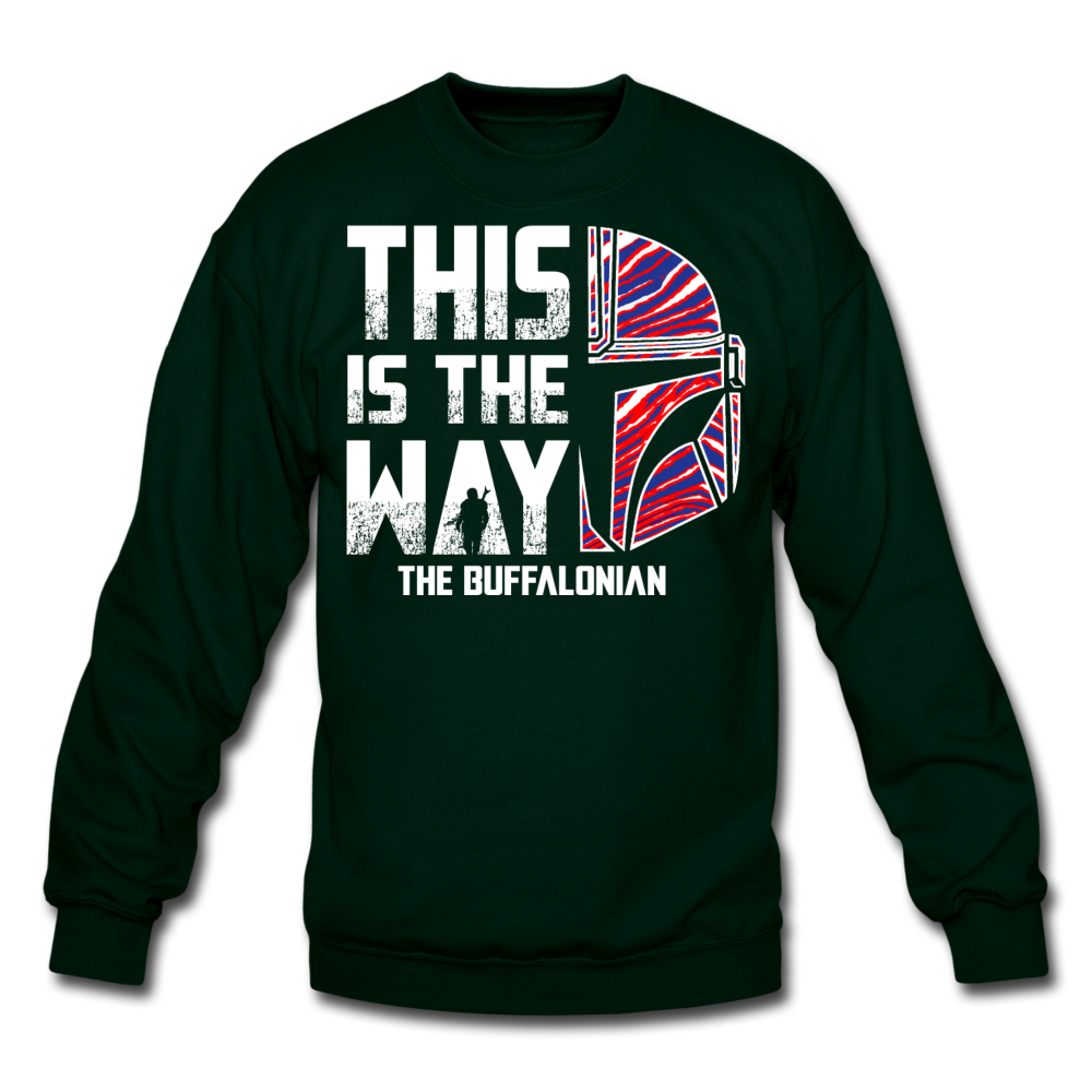 Unisex Buffalonian Crewneck Sweatshirt - forest green