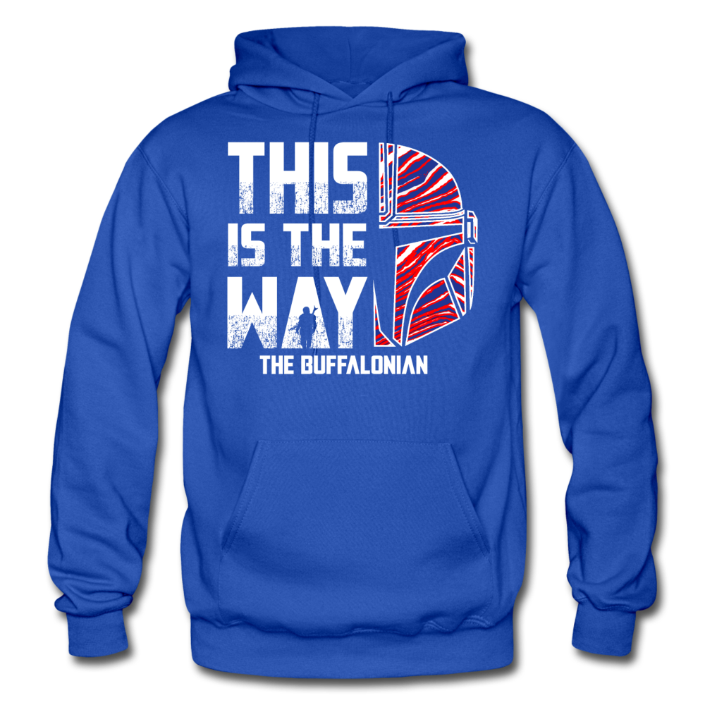 Men's Buffalonian Hoodie - royal blue