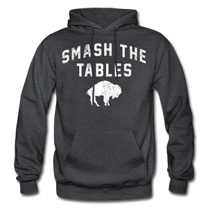 Men's Tables Hoodie - charcoal gray
