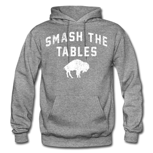 Men's Tables Hoodie - graphite heather