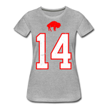 Women's Diggs Front & Back Premium T-Shirt - heather gray