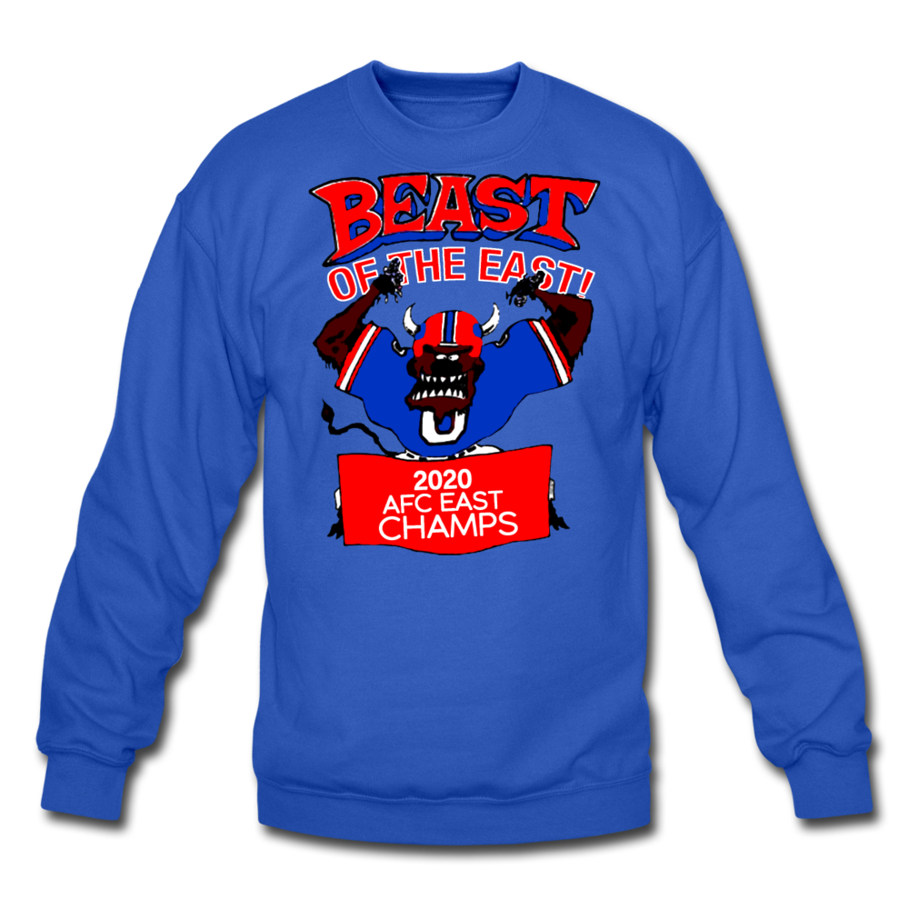 Unisex Beast Crewneck Sweatshirt - royal blue
