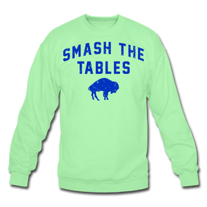 Unisex Tables Crewneck Sweatshirt - lime