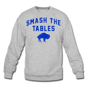 Unisex Tables Crewneck Sweatshirt - heather gray
