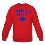 Unisex Tables Crewneck Sweatshirt - red