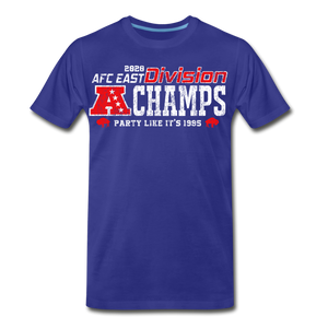 Men's AFC East Premium T-Shirt - royal blue