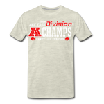 Men's AFC East Premium T-Shirt - heather oatmeal