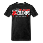 Men's AFC East Premium T-Shirt - charcoal gray