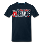 Men's AFC East Premium T-Shirt - deep navy