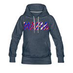 Women's Mafia Premium Hoodie - heather denim